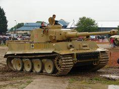 """Немецкий тяжелый танк Pz VI """"Тигр I"""" """"Tiger I"""". Немецкие тяжелые танки времен Второй мировой войны."""