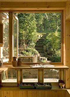 outdoors inside