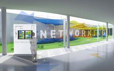 Propuesta de diseño y construcción para las zonas comunas del MWC 2015. Propuesta realizada conjuntamente con Eventive