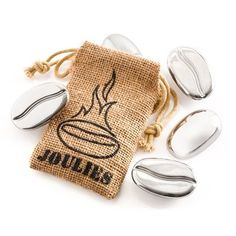 """Coffee Joulies Thermal Dispenser (""""Coffee is HOT; Joulies are cool. Take the edge off your coffee so it is safe to sip sooner & stays in the perfect temperature range longer. Work Meals, Caffeine Addiction, Shark Tank, Hot Coffee, Drink Coffee, Happy Coffee, Sweet Coffee, Coffee Creamer, Coffee Gifts"""