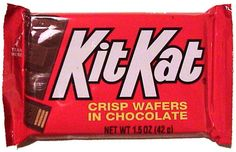 Break me off a piece of that Kit Kat bar.....actually, give me the whole dang thing!