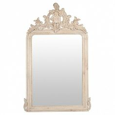 French Style carved mirror - large 160cm tall - Trade Secret