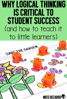 Learn the importance of logical thinking and how to teach it to students within the classroom. Discover several easy strategy games and centers to teach critical thinking skills to young children.