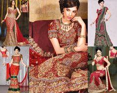 Best Bridal Lehenga Collection 2016 By Top 10 Indian Bridal Designers Latest Bridal Lehenga, Indian Bridal Sarees, Lehenga Wedding, Bollywood Wedding, Indian Wedding Outfits, Indian Outfits, Indian Clothes, Bridal Lehenga Collection, India Fashion