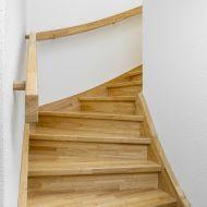 die besten 25 lackierte holztreppe ideen auf pinterest gestrichene treppen treppe und treppe. Black Bedroom Furniture Sets. Home Design Ideas