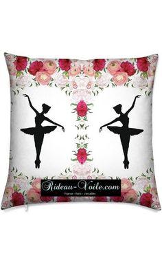 fille housse de couette tissu imprim ballerine danseuse toile danse cl tissu ameublement. Black Bedroom Furniture Sets. Home Design Ideas