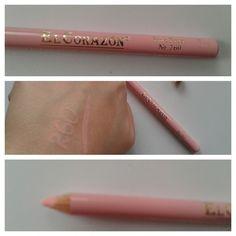 #карандашдлягуб #ElCorazon в молочном оттенке, хороший и стойкий, похож на проф карандаш от Лакорди
