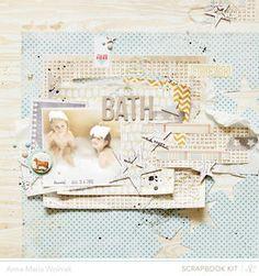 Bath by Anna-Maria Wolniak at @Studio Calico
