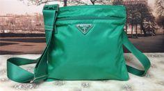 Auth Prada Vela Bandoliera Acquamarina Cross Body Bag Shoulderbag Handbag Purse | eBay