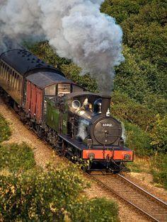 J15 Approaching Kelling Heath (1) | by Gerry Balding