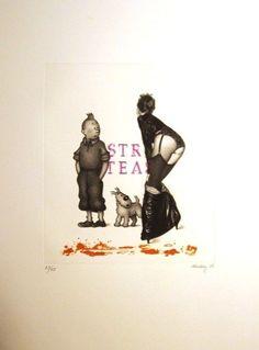 Tintin et une Femme Fatale
