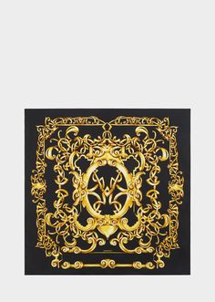 218d95c09f2 Versace Heritage Barocco print silk foulard for Women