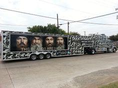 Duck Dynasty truck and trailer wrap in Dallas, TX