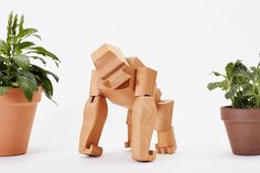 The clever hardwood animals by Areaware are a fun gift to a child or a child at heart. The frames can hold many poses and their elastic-band muscles and durable timber limbs make them almost impervious to breakage. An enduring classic that will withstand generations of play. Contemporary Toys, Design Movements, Burke Decor, Metal Fabrication, Home Accessories, Best Gifts, Creative, Muscles, Hardwood