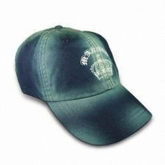 6-panel Baseball Cap with Printed Logo on Front, Available in Various Colors