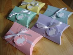 Easter Pillow Boxes  Qty 10 by CreativeHolidays on Etsy