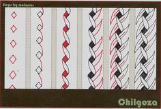 Chilgoza-tangle pattern | Flickr - Photo Sharing!
