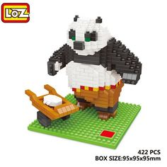8.32$  Watch here - http://dicjb.justgood.pw/go.php?t=176179701 - LOZ Cartoon Figure Panda Building Block Intelligence Toy for Kid 8.32$