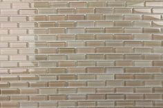 Light Brown Beige Tan Taupe Glass Subway Mosaic Tile Kitchen Backsplash Bathroom #Bodesi