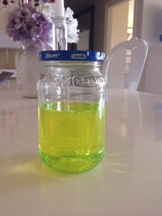 DIY jewelry cleaning solution: You Need: 1 clean, glass jar Ammonia  Dawn  Water  Directions: Mix 3 parts ammonia, 1 part water, and 3 drops of Dawn (i.e. - I used 1 c ammonia, and 1/3 c water)