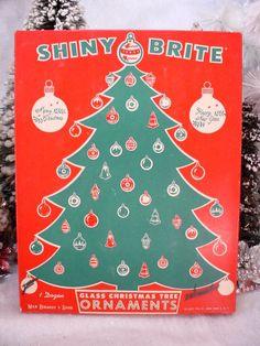 Shiny Brite Ornaments
