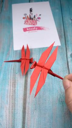 Origami Insects, Instruções Origami, Origami Videos, Origami And Quilling, Origami Animals, Origami Flowers, Origami Koi Fish, Origami And Kirigami, Origami Butterfly