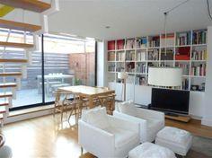Nice duplex terrace near Camp Nou. Camp Nou, Terrace, Bookcase, Shelves, Nice, Fun, Home Decor, Balcony, Shelving