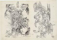 japanese drawing zeichnungen japanische