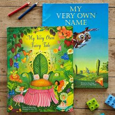 Personalized Storybooks. These are so cool :)