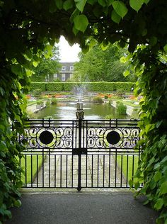 Kensington gardens,London.