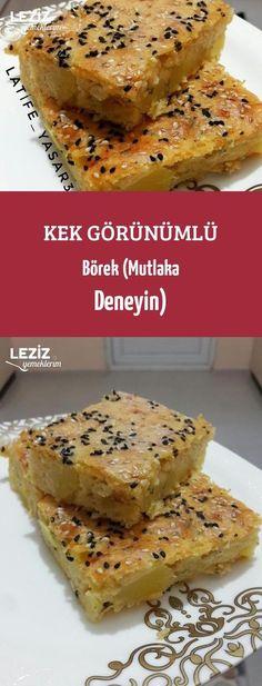 Kek Görünümlü Börek (Mutlaka Deneyin)