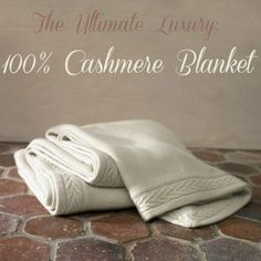 """Have you seen this??? The $6,200 cashmere blanket. This is the crowning jewel in the """"dream"""" bedding set I just put together. From @Stuff Parents Need"""