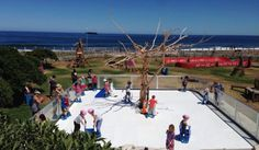 Outdoor Ice Skate Rink at the Blue Train Adventure Park in Cape Town.   Little ones can ice skate to their heart's content at this new and unique SA installation.  http://www.capetownmagazine.com/things-to-do-cape-town/outdoor-ice-skate-rink-at-the-blue-train-adventure-park-in-cape-town/15_52_56533