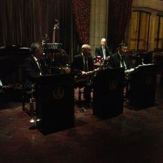 Jazz band, at the peace hotel shanghai!