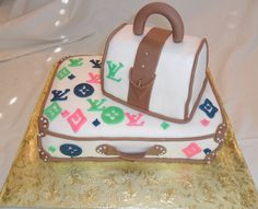 images of different shoes and purses | Another Loius Vuitton Cake — Clothing / Shoe / Purse
