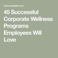 45 Successful Corporate Wellness Programs Employees Will Love Wellness 45 Kick-Ass Corporate Wellness Programs to Copy Employee Wellness Programs, Health Programs, Wellness Activities, Wellness Tips, Workplace Wellness, Health And Wellbeing, Employee Appreciation, Bees Knees, Ladies Night