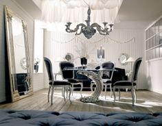 SAVIO FIRMINO  |  Прежде всего это элегантные предметы обстановки для спален, украшенные причудливыми узорами искусной ручной резьбы, с прекрасной отделкой из сусального золота и серебра. Уже более 70 лет Savio Firmino выпускает изящную мебель и аксессуары в роскошных неоклассических стилях, высоко чтит вековые традиции флорентийских ремесленников-краснодеревщиков.  Savio Firmino по праву  занимает достойное место в современном или классическом интерьере.