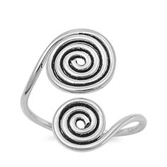 8mm x 20mm Jewel Tie 925 Sterling Silver Small Polished Number 64