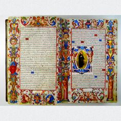 CARTA EXECUTORIA SPANISH MANUSCRIPT BY PHILIPP II. GRANADA 1581  Seldom and extraordinary Spanish manuscript on vellum with handpainted, also illuminated, miniature painting and initials. For sale - only 55,000 Euros - VERY fancy