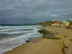 Praia da Areia Branca, Lourinhã, Portugal