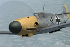 German BF 109, also called the Me 109.