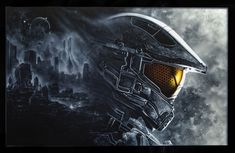 Custom Painter and Airbrush Artist in Western MT. Custom Airbrushing, Halo 5, Fantasy Portraits, Air Brush Painting, Final Fantasy Xv, Custom Paint, Master Chief, Darth Vader, Gallery