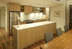 Wood kitchen apartment