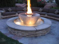 Firepit/Water Fountain!