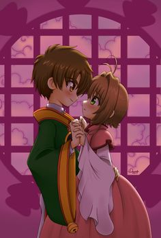 Syaoran and Sakura by Danime-chan.deviantart.com on @deviantART  Card Captor Throw Back