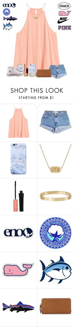 """Day 4: shopping spree"" by laurenek006 ❤ liked on Polyvore featuring Levi's, Kendra Scott, Converse, Cartier, Chaco, Vineyard Vines, Southern Tide, Patagonia, Victoria's Secret PINK and Tory Burch"