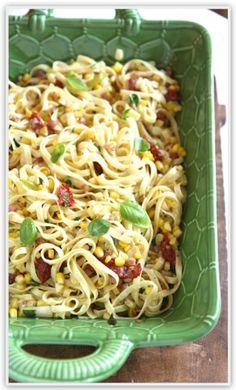The Italian Dish - Posts - Pasta with Sweet Corn andGorgonzola