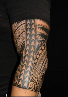 geometric tattoos arm bands - Google Search