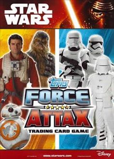 Star Wars Force Attax -  Force Awakens Trading cards