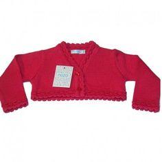 03a968269 Rebeca niña punto algodón rojo nezo outlet